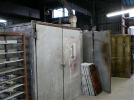 排熱回収型焼付乾燥炉
